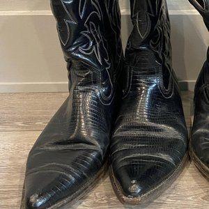 Men's Vintage Cowboy Boots Size 10
